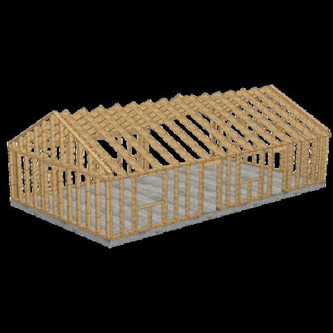 Prefabrykowane domy szkieletowe